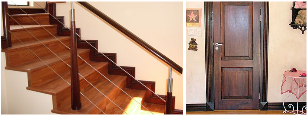 Custom made wooden mouldings for your home