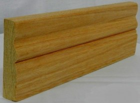 AT08 Meranti/Supawood Architrave. Size:90mm x 22mm
